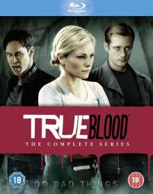 True Blood Season 1-7 (Blu-ray) (UK Import), 33 Blu-ray Discs