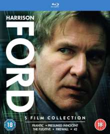 Harrison Ford Collection (Blu-ray) (UK Import mit deutscher Tonspur), 5 Blu-ray Discs