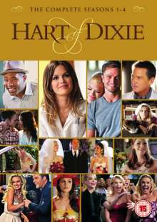 Hart of Dixie - The Complete Collection (UK Import), 17 DVDs