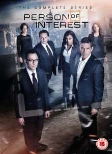 Person Of Interest Season 1-5 (The Complete Series) (UK Import), 27 DVDs