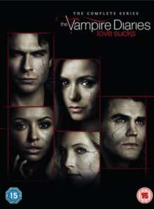 The Vampire Diaries Staffel 1-8 (UK Import), 43 DVDs