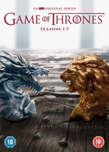 Game Of Thrones Season 1-7 (UK Import), 67 DVDs