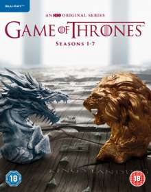 Game Of Thrones Season 1-7 (Blu-ray) (UK Import), 30 Blu-ray Discs