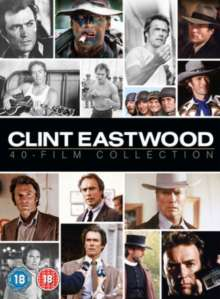 Clint Eastwood 40 Film Collection (UK Import), 40 DVDs