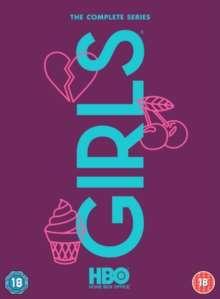 Girls Season 1-6 (UK Import), 12 DVDs