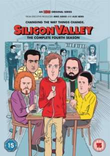 Silicon Valley Season 4 (UK Import), 2 DVDs