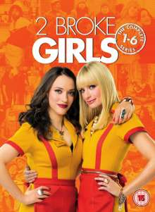 Two Broke Girls - The Complete Series 1-6 (UK Import), 17 DVDs