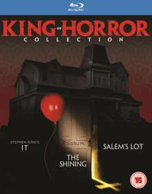 Stephen King - King Of Horror Collection (Blu-ray) (UK Import mit deutscher Tonspur), 3 Blu-ray Discs