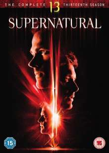 Supernatural Season 13 (UK-Import), 6 DVDs