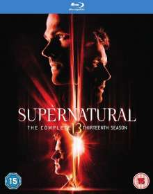 Supernatural Season 13 (Blu-ray) (UK-Import), 4 Blu-ray Discs
