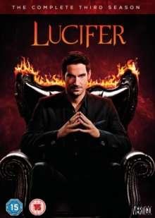 Lucifer Season 3 (UK Import), DVD