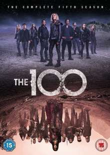 The 100 Season 5 (UK Import), 3 DVDs