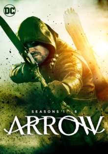 Arrow Season 1-6 (UK Import), 30 DVDs