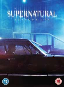 Supernatural Season 1-13 (UK-Import), 76 DVDs