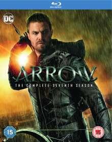 Arrow Season 7 (Blu-ray) (UK Import), 4 Blu-ray Discs