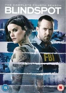 Blindspot Season 4 (UK Import), 4 DVDs