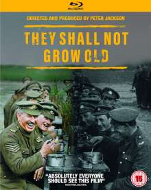 They Shall Not Grow Old (2018) (Blu-ray) (UK-Import), Blu-ray Disc