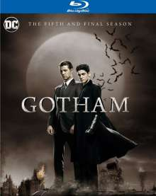 Gotham Season 5 (Blu-ray) (UK Import), 5 Blu-ray Discs