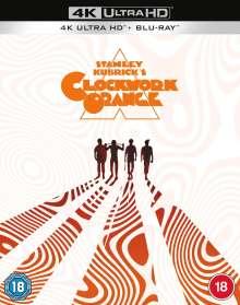 A Clockwork Orange (Ultra HD Blu-ray & Blu-ray) (UK Import mit deutscher Tonspur), 1 Ultra HD Blu-ray und 1 Blu-ray Disc