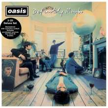 Oasis: Definitely Maybe (Deluxe Edition), 3 CDs