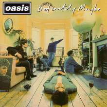 Oasis: Definitely Maybe (remastered) (180g), 2 LPs