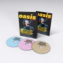 Oasis: Knebworth 1996, 3 DVDs