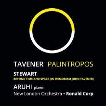 John Tavener (1944-2013): Palintrops für Klavier & Orchester, CD