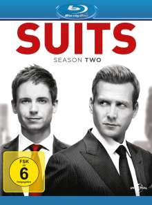 Suits Season 2 (Blu-ray), 4 Blu-ray Discs