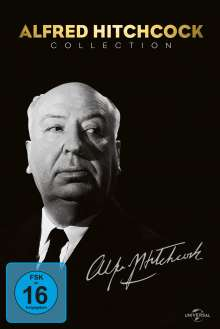 Alfred Hitchcock Collection, 14 DVDs