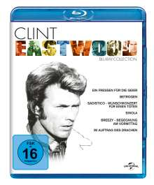 Clint Eastwood Collection (Blu-ray), 6 Blu-ray Discs