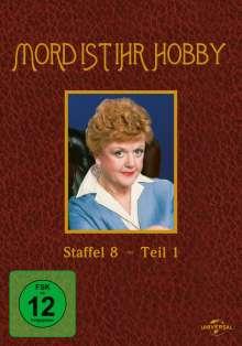 Mord ist ihr Hobby Staffel 8 Box 1, 3 DVDs