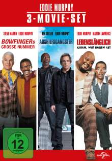 Eddie Murphy: 3-Movie-Set, 3 DVDs
