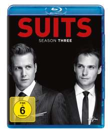 Suits Season 3 (Blu-ray), 4 Blu-ray Discs