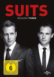 Suits Season 3, 4 DVDs