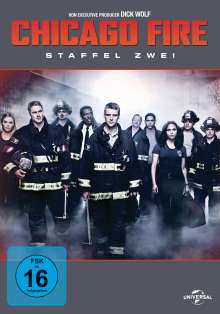 Chicago Fire Season 2, 6 DVDs