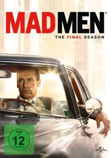 Mad Men Season 7 (finale Staffel), 6 DVDs
