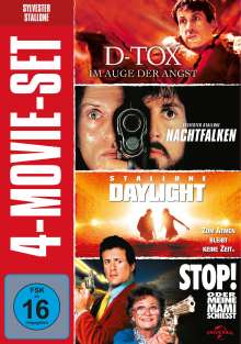 Sylvester Stallone: 4-Movie-Set, 4 DVDs