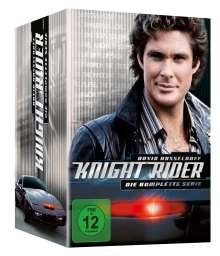 Knight Rider (Komplette Serie), 26 DVDs