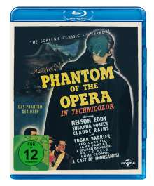 Phantom der Oper (1943) (Blu-ray), Blu-ray Disc