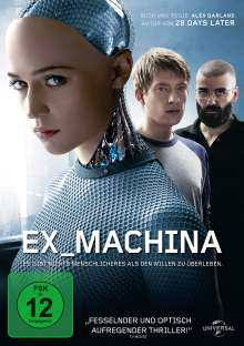 Ex_Machina, DVD