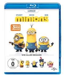 Minions (Blu-ray), Blu-ray Disc
