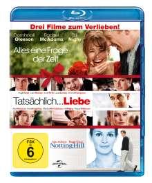 Alles eine Frage der Zeit / Tatsächlich...Liebe / Notting Hill (Blu-ray), 3 Blu-ray Discs