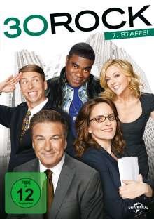 30 Rock Season 7 (finale Staffel), 2 DVDs