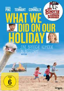 What we did on our Holiday, DVD
