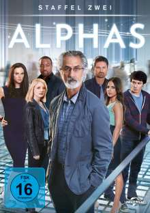 Alphas Season 2 (finale Staffel), 4 DVDs
