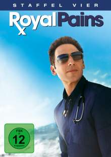 Royal Pains Season 4, 4 DVDs