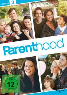 Parenthood Season 3, 4 DVDs