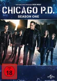 Chicago P. D. Season 1, 2 DVDs