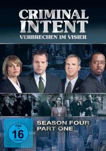 Criminal Intent Season 4 Box 1, 3 DVDs