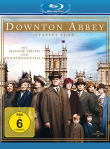 Downton Abbey Season 5 (Blu-ray), 3 Blu-ray Discs